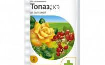 Обработка растений и применение фунгицида Топаз