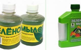 Зеленое мыло от вредителей инструкция по применению, отзывы