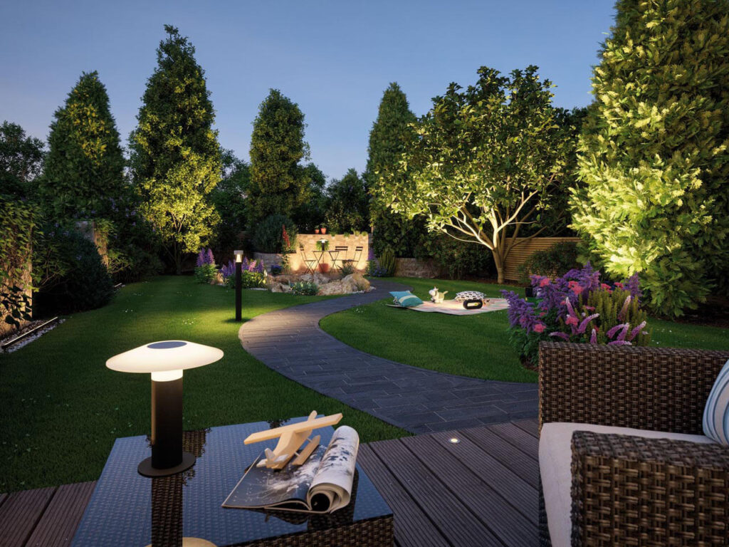 Что нужно знать об освещении сада?
